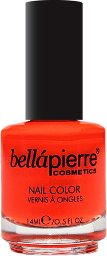 Bellapierre nail polish single neon orange