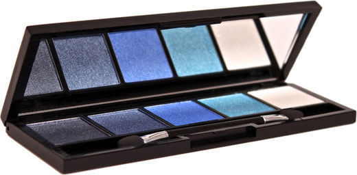 Bellapierre 5 pressed eye shadow blue