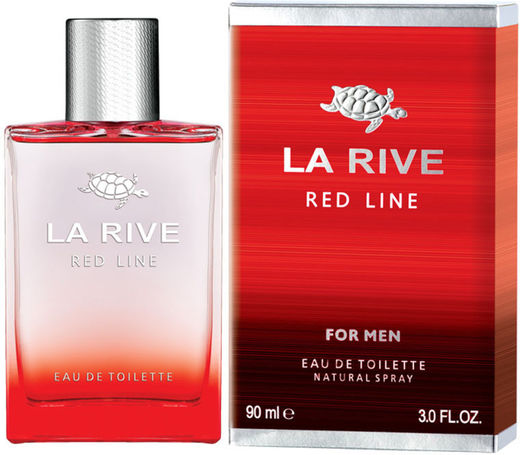 La rive red line 90 ml edt miehille