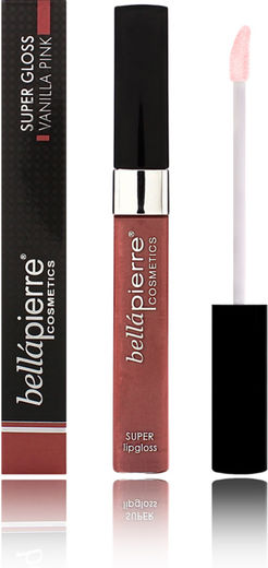 Bellapierre super lip gloss 9ml vanilla pink
