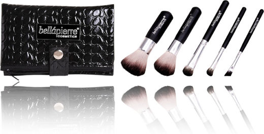 Bellapierre 5 pcs travel brush set